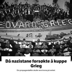 Daa Nazistane Forsokte Aa Kuppe Grieg