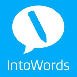 Into Words Logo