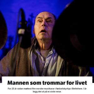 Mannen Som Trommar For Livet