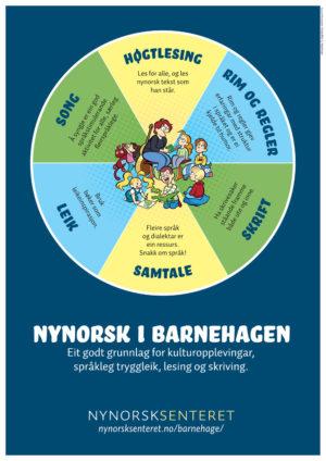 Plakat Nynorsk I Barnehagen