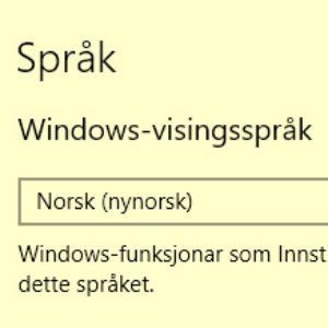 Windowsspraakval Ikon