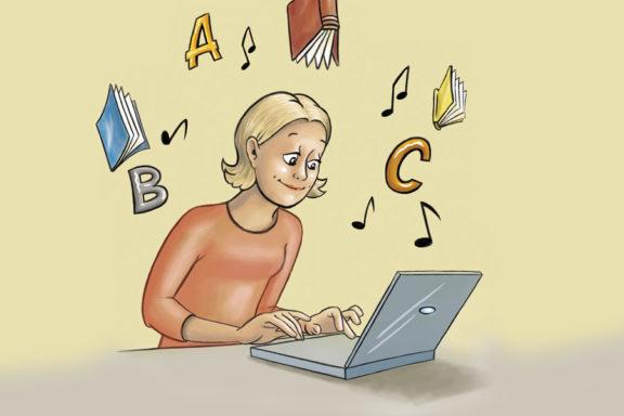 Nynorsksenteret Illustrasjon Blogg