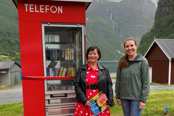 Trude Tjensvold og Anne Marta V Vadstein til nettside