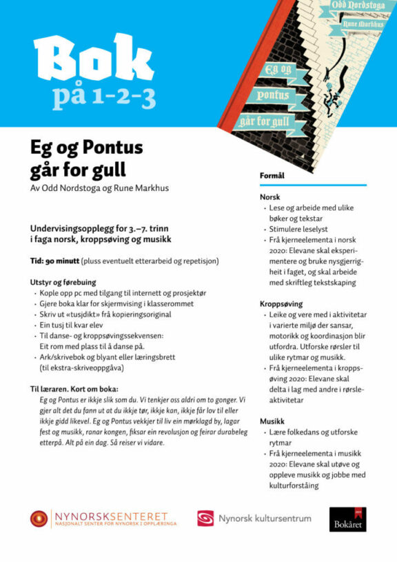 Bok paa 123 Eg og Pontus