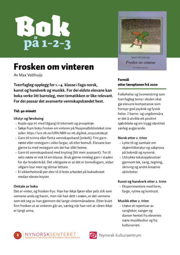 Bok paa 123 Frosken