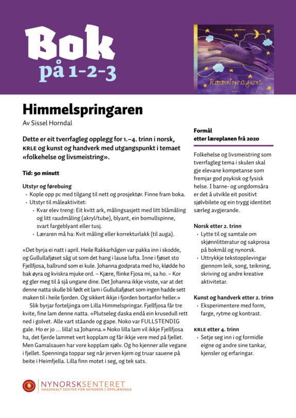 Bok paa 123 Himmelspringaren