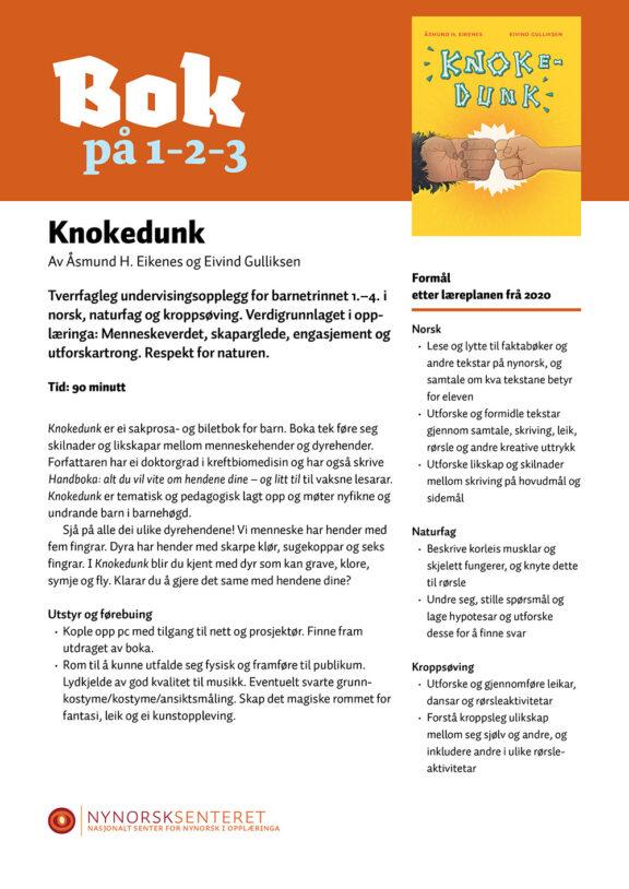 Bok paa 123 Knokedunk 1
