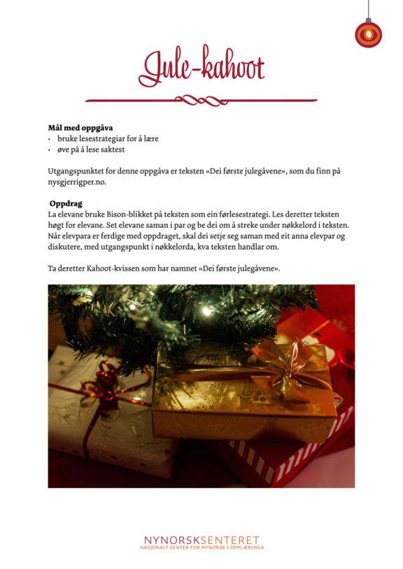 Kalender julekahoot