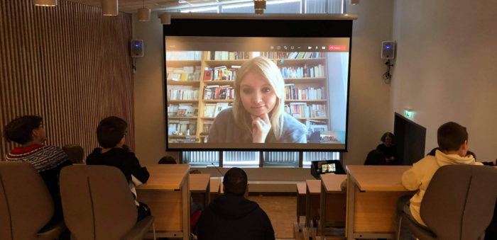 Digitalt forfattarmøte til nettside