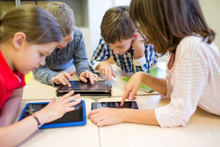 Elevar med i Pad til nettside