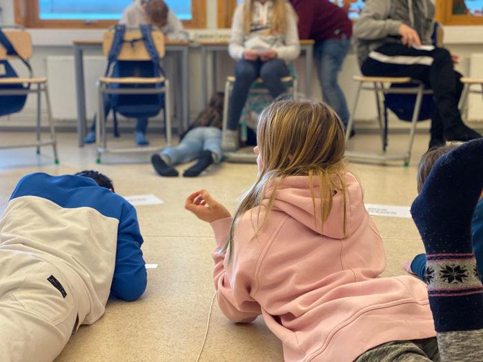 Frå klasserom til nettside