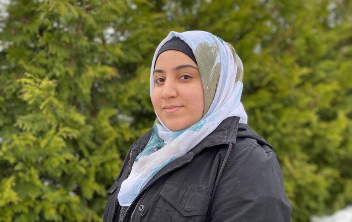 Israa Almsaytef til nettside ny versjon